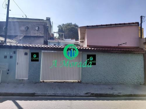 Imagem 1 de 13 de Casa Para Locação Vila Lutecia Fundos! - Ca00805 - 69539674