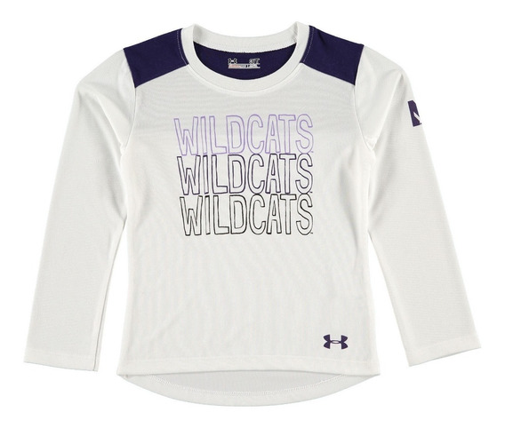Playera Infantil Under Armour Northwestern Wildcats
