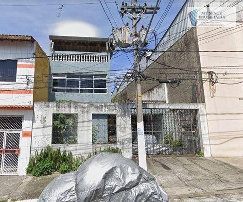 Imagem 1 de 30 de Casa Com 3 Dormitórios, 400 M² - Venda Por R$ 1.800.000,00 Ou Aluguel Por R$ 3.000,00/mês - Vila Antonieta - São Paulo/sp - Ca0192