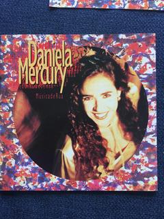 Daniela Mercury Música De Rua Cd 1ra Edición 1994 Sin Caja