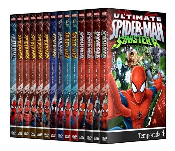 Homem Aranha - Coleçao Completa Em Dvd