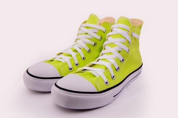 Tênis All Star Chuck Taylor Ct Cano Alto Verde Neon