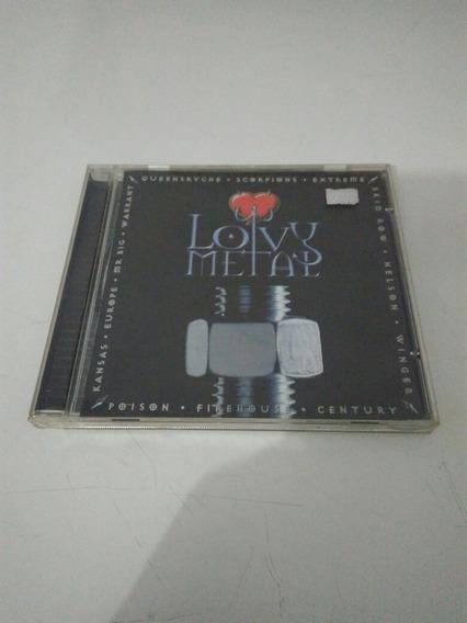 Cd Lovy Metal Volume 1 Original Usado Em Bom Estado