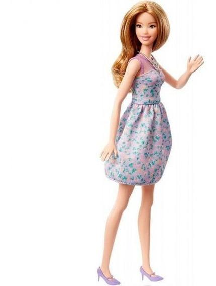 Boneca Barbie Fashionistas Power Print Mattel - Púrpura