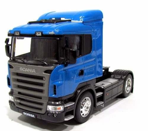 Caminhão De Metal Scania R470 Escala 1/32 Pronta Entrega