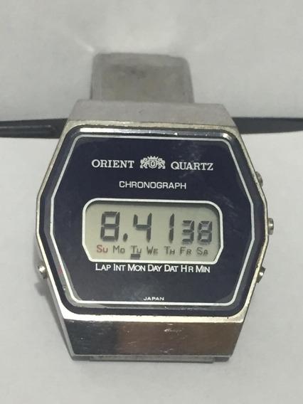 Relogio Orient Quartz Anos 80 Raro Original