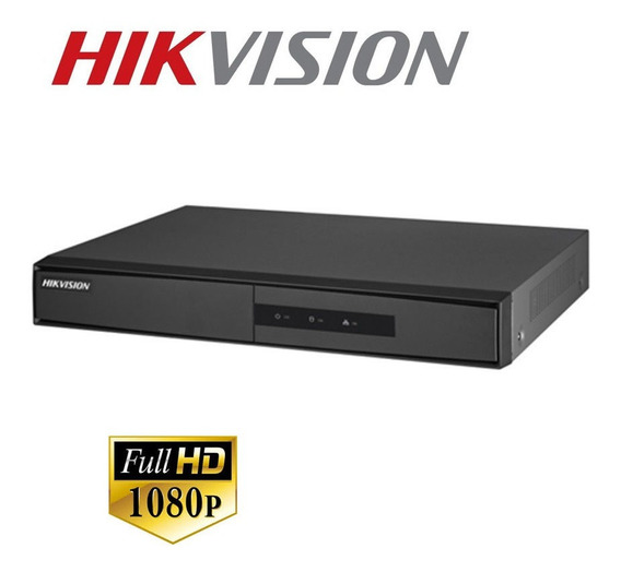 Dvr Hikvision Ds-7204hghi-f1 4 Canales Hd 720