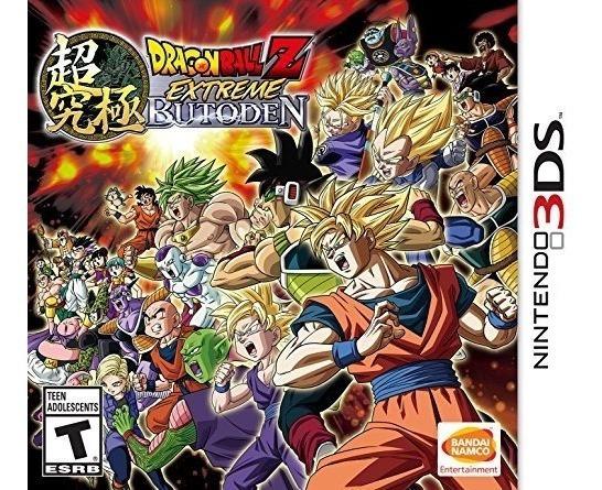 Dragon Ball Z: Extreme Butoden - Semi Novo - 3ds - Gamercado