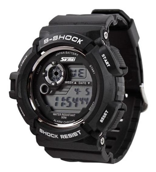 Relógio Esportivo Skmei S-shock Masculino Quartz Impermeável