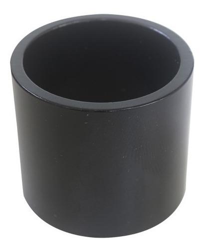 Espaçador Calypso Cx Direção  Over  Aluminio Preto 30mm.