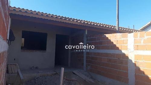 Imagem 1 de 20 de Casa Com 2 Dormitórios À Venda, 85 M² Por R$ 270.000,00 - Cordeirinho (ponta Negra) - Maricá/rj - Ca4330