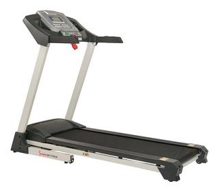 Cinta de correr eléctrica Sunny Health & Fitness SF-T7515 110V negro/gris