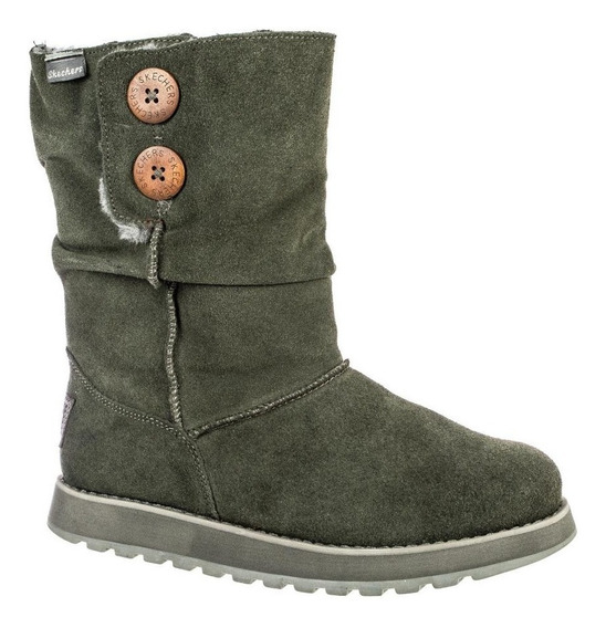 Bota Feminina Skechers Freezing Temps Forrada Ideal Inverno
