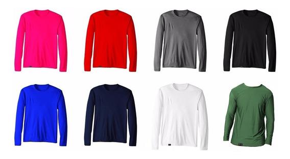 Kit 2 Camisa Proteção Uv 50+ Tamanho Plus Size Promoção
