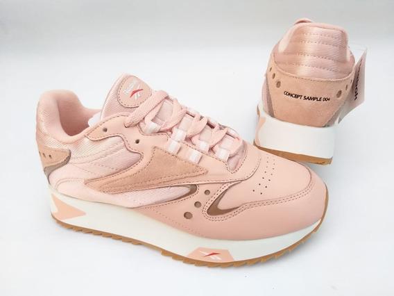 Tênis Reebok Classic Leather Ati 90s Rosa Sneaker Chunky