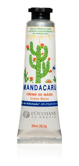 Creme De Mãos Loccitane Mandacaru 30ml