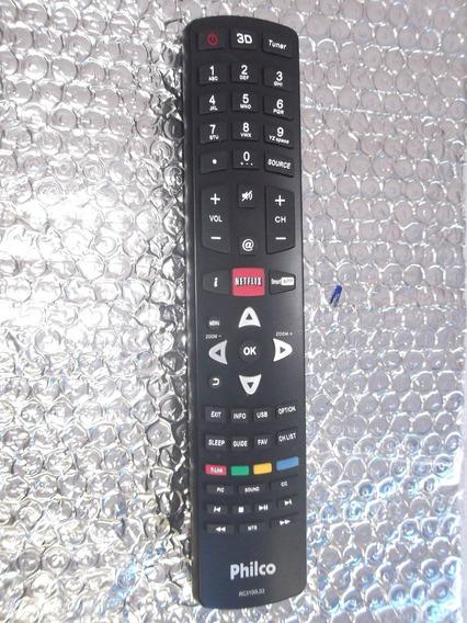 Controle Remoto Tv Philco Original Com Tecla 3d-netiflix !!!