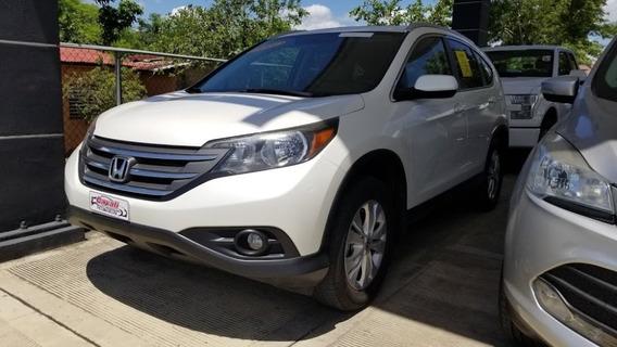 Honda Cr-v Ex Blanca 2014