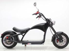 Moto Elétrica Scooter Muuv - Chopper Black - 2019 Preta