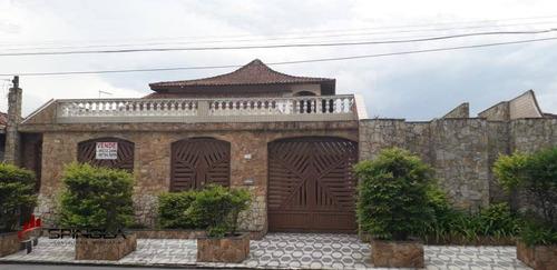 Casa Com 3 Dormitórios À Venda, 261 M² Por R$ 760.000 - Jardim Imperador - Praia Grande/sp - Ca1690