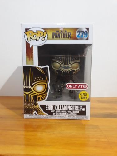Funko Pop Erik Killmonger 279 Glow / Target Exclve
