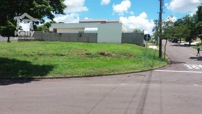Terreno À Venda, 620 M² Por R$ 403.000 - Residencial Quinta Das Flores - Presidente Prudente/sp - Te0299