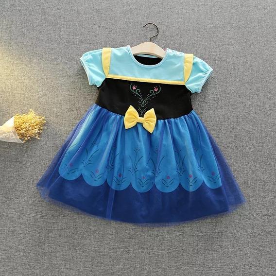 Disfraz Princesa Anna Frozen Para Bebé (nuevos)