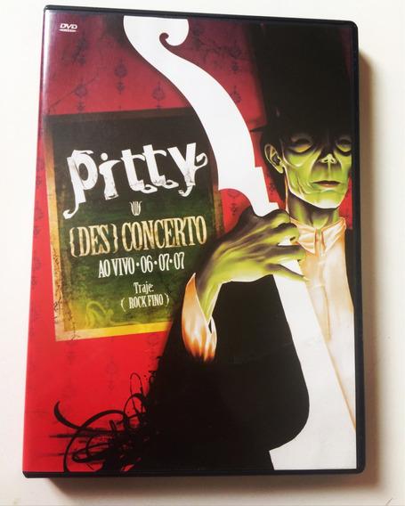 Dvd Pitty Des Concerto - Original