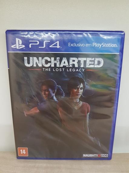 Uncharted The Lost Legacy Ps4 Novo Lacrado Mídia Física