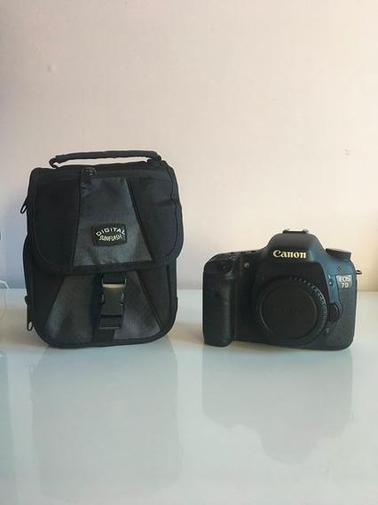 Câmera Canon 7d Com Lente 24-70mm 2.8f E Acessórios