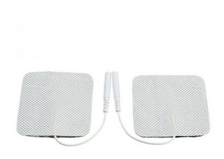 Pack 10 Electrodos Tens Ems Autoadhesivos 5x5 Cm Para Cuerpo