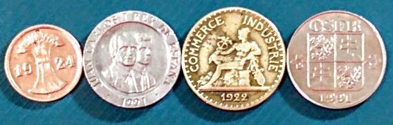Monedas De Europa 7 República Checa Y Otros