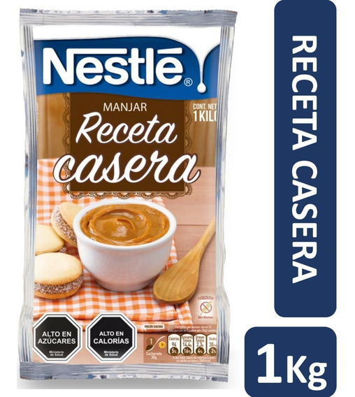 Manjar Nestle Receta Casera 1kg