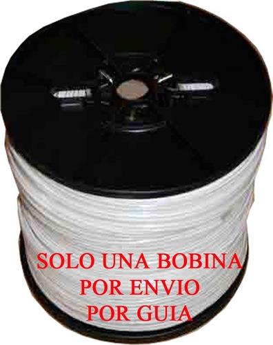 Imagen 1 de 1 de Cable Coaxial Siames Cal 20  P/cctv  Blanco  300 Mts B07