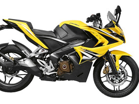Bajaj Pulsar Rs200 - Inyeccion - Abs Amarillo
