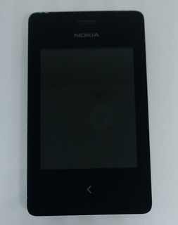 Nokia Asha 500 Preto Semi Novo C/ Avaria S/ Garantia
