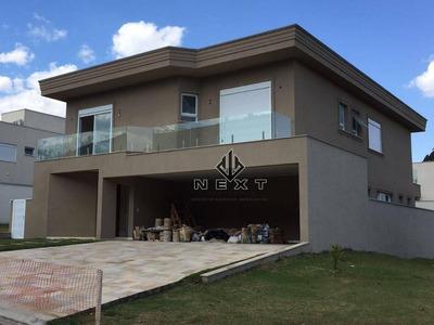 Casa Com 4 Suites À Venda, 440 M² No Residencial Villa Solaia - Alphaville - Sp - Ca0043