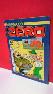 Hq Gibi A Turma Do Zero Nº06 Os Embalados - Globo/1987