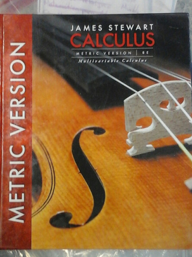 Multivariable Calculus  International Metric Stewart  8 Ed