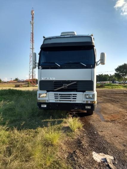 Caminhão Volvo Fh 380 6x2 Teto Alto Motor Feito 2000