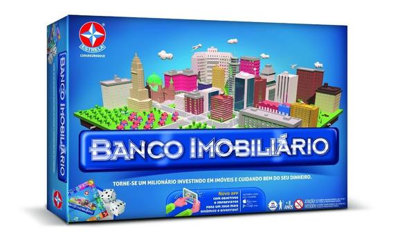 Novo Lacrado Banco Imobiliario Grande Original Estrela