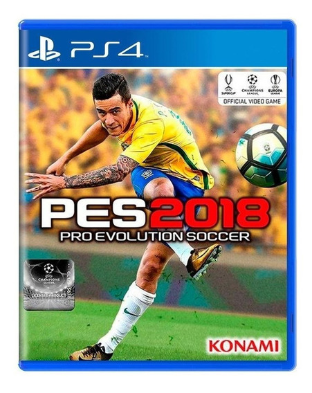 Pro Evolution Soccer 2018 Pes 18 Ps4 Mídia Física