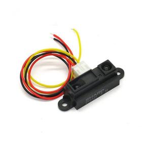 Sharp Infrared Ir Sensor Medição De Distância Arduino 80cm