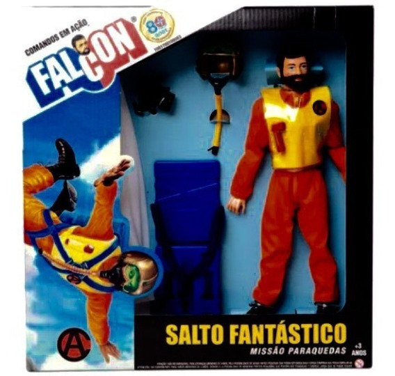 Boneco Falcon Salto Fantástico Da Brinquedos Estrela