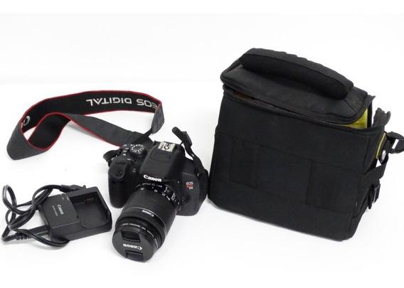 Câmera Profissional Canon Eos T5i Rebel