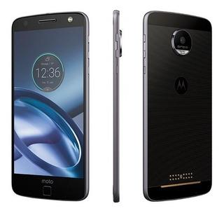 Motorola Moto Z Color Negro 32gb Ram 4gb Libre Nuevo Origina