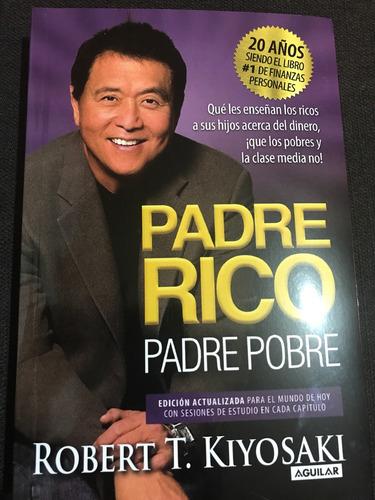Libro Original Padre Rico Padre Pobre 20anv.+envío Gratis