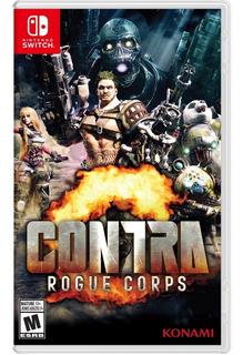 Contra Rogue Corps Nintendo Switch