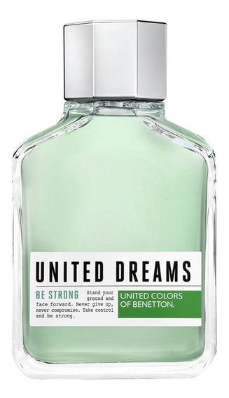 United Dreams Be Strong Benetton - Perfume Masculino - Eau De Toilette 200ml