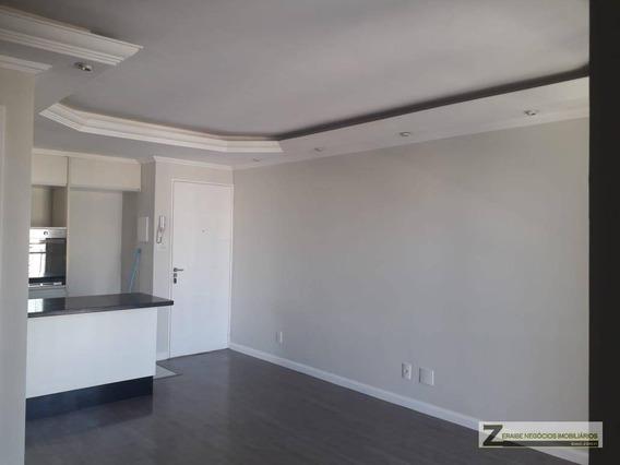 Apartamento Com 2 Dormitórios Para Alugar, 64 M² Por R$ 1.680/mês - Gopoúva - Guarulhos/sp - Ap0431